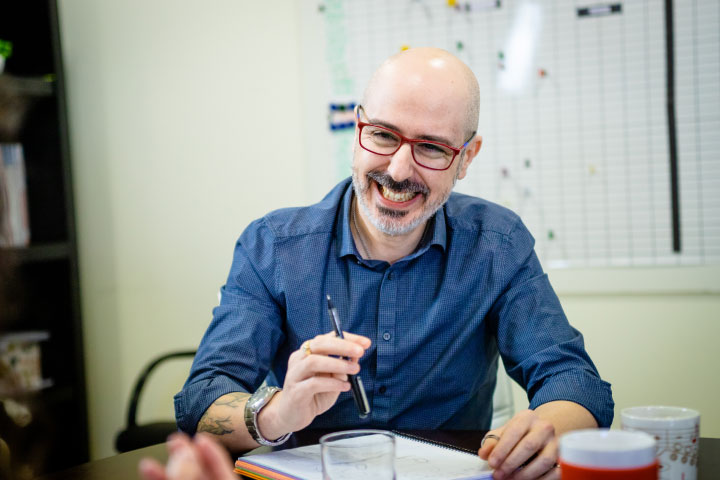 Javier Lara - director de I+D+i Synerplus